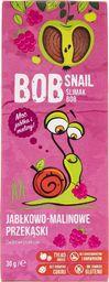 Bob Snail Bob Snail Przekąska jabłkowo-malinowa bez dodatku cukru - 30 g - WYSYŁKA W CIĄGU 24H -