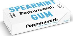 Peppersmith Peppersmith Bezcukrowe gumy z ksylitolem Spearmint - 15 g - WYSYŁKA W CIĄGU 24H -
