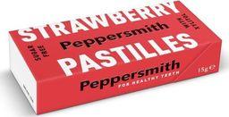 Peppersmith Peppersmith Bezcukrowe pastylki z ksylitolem Strawberry - 15 g - WYSYŁKA W CIĄGU 24H -