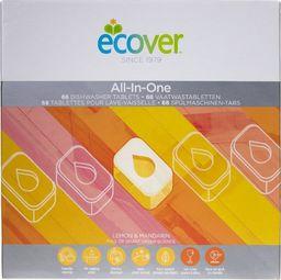 Ecover Ecover All in one Tabletki do zmywarki - 68 sztuk - WYSYŁKA W CIĄGU 24H -