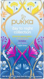 Pukka Herbs Pukka Herbata Day To Night Collection - 20 saszetek - WYSYŁKA W CIĄGU 24H -
