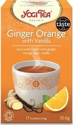 Yogi Tea Yogi Tea Ginger Orange Herbatka imbirowo-pomarańczowa z wanilią - 17 saszetek