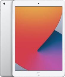 """Tablet Apple iPad 2020 + Cellular 10.2"""" 32 GB 4G LTE Srebrny  (MYMJ2)"""