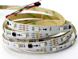 Taśma LED LED BTF- lighting Taśma RGB SMD5050, WS2811, biała, IP20, 5 m