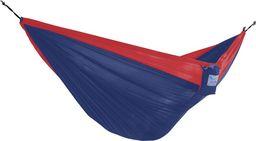 Parachute Hamak turystyczny dwuosobowy Parachute, czerwono-niebieski PAR2