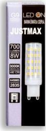 Auhilon Przezroczysta żarówka G9 8W ciepła Auhilon LED WL-G9-8W01