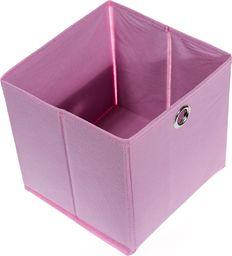 PEPCO PEPCO - Pudełko składane 20X20X20CM różowe
