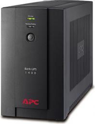 UPS APC Back-UPS 1400VA, 230V, AVR, IEC Sockets (BX1400UI)
