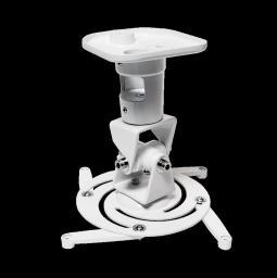 Uchwyt do projektorów LogiLink sufitowy, biały (BP0003)