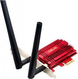 Karta sieciowa Asus PCE-AC56 PCI-E 802.11ac (90IG00K0-BM0000)