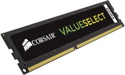 Pamięć Corsair Value Select, DDR4, 8 GB,2133MHz, CL15 (CMV8GX4M1A2133C15)