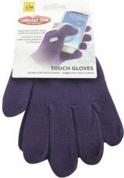 Cellular Line Rękawiczki umożliwiające dotykową obsługę wyświetlaczy smartfonów CTOUCHGLOVESSMV