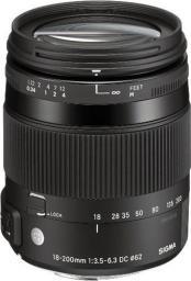 Obiektyw Sigma 18-200mm f/3.5-6.3 C DC MACRO OS HSM Nikon (885955)