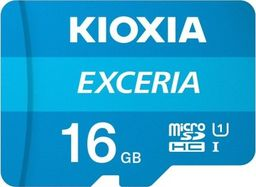 Karta Kioxia Exceria MicroSD 16 GB Class 10 UHS-I/U1  (LMEX1L016GG2)