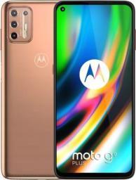 Smartfon Motorola Moto G9 Plus 128 GB Dual SIM Pomarańczowy  (PAKM0013PL)