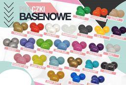Everplast Piłka do suchego basenu 7cm - 1 szt, można zamówić dowolny kolor oraz ilość uniw