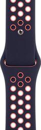 Apple Apple Pasek sportowy Nike w kolorze niebieskoczarnym/jasnego mango do koperty 40 mm