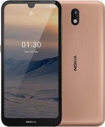 Smartfon Nokia 1.3 16 GB Dual SIM Brązowy  (6438409043931)