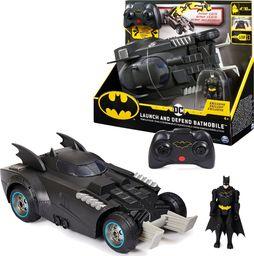 Spin Master Batman Batmobile zdalnie sterowany z katapultą RC i figurka
