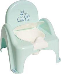 Tega Nocnik krzesełko króliczki zielony Tega