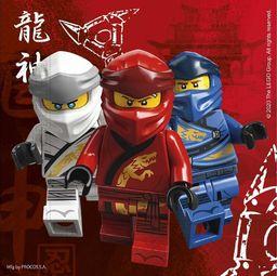 GoDan Serwetki papierowe Lego Ninjago 33x33 16szt Godan