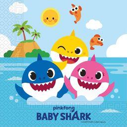 GoDan Serwetki Baby Shark 33x33 cm 20szt Godan