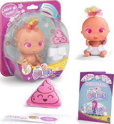 Famosa Famosa Mini Bellies Lalka Bobas Mini-Pinky! uniwersalny