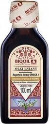 BIOOIL Olej lniany tłoczony na zimno OmegaLen 100 ml - BIOOIL