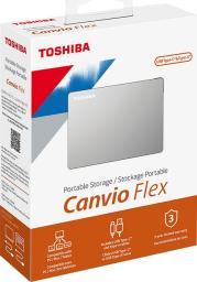 Dysk zewnętrzny Toshiba HDD Canvio Flex 2 TB Srebrny (HDTX120ESCAA)