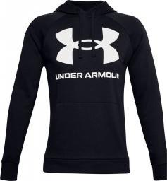 Under Armour Bluza męska Rival Fleece Big Logo HD czarna r. XXL (1357093 001)