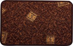 PEPCO PEPCO - Dywanik tekstylny 40x60cm brązowy ze wzorem