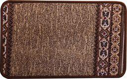 PEPCO PEPCO - Dywanik tekstylny 40x60cm jasny brąz ze wzorem
