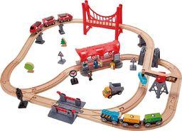 Hape Train Set Busy City (E3730)