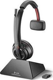 Słuchawki z mikrofonem Poly  Savi 8210 UC USB-A Mono (209213-02)