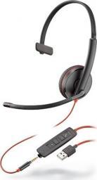 Słuchawki z mikrofonem Poly Blackwire C3215 USB-A (209746-201)