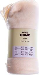 PEPCO PEPCO - Koc polar 130x160 cm biały