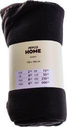 PEPCO PEPCO - Koc polar 130x160 cm Black