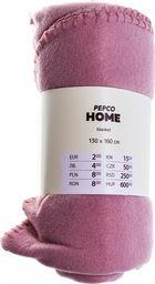 PEPCO PEPCO - Koc polar 130x160 cm różowy