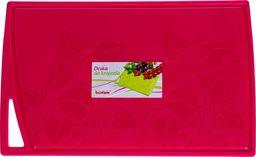 Deska do krojenia PEPCO PEPCO - deska kuchenna splash 38,5x24cm różowa