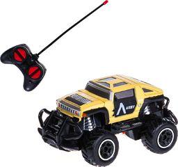 PEPCO PEPCO - autko terenowe 1:43 RC wojskowy żółty