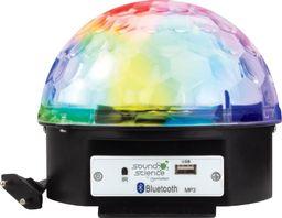 Manhattan Dyskotekowa Kula Disco LED z Głośnikiem Bluetooth / USB