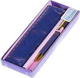 Pepco PEPCO - zestaw długopis z etui fioletowym