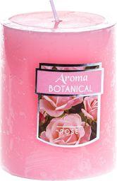 Pepco PEPCO - Walec Rustic 6,5 x 8 cm Zapach różowy