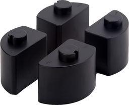 ErgoSafe Nóżki do podstawki pod monitor czarne (1)