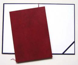 SI-WARTA Okładka na dyplom, A4, bordo (1824-339-030)