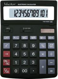 Kalkulator Vector DK-206 BLK (ZI5145)