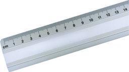 Leniar Linijka Aluminiowa z wkładką 30cm (30071)