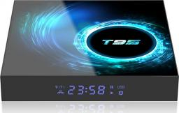 Aludra Zestaw smart tv box T95 2/16GB android 10 WiFi plus klawiatura bluetooth i8