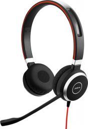 Słuchawki z mikrofonem Jabra Evolve 40 Duo (6399-829-209)
