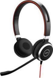 Słuchawki z mikrofonem Jabra Evolve 40 Duo MS (6399-823-109)